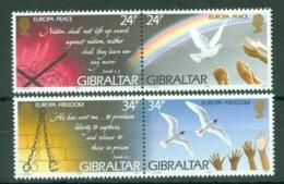 Gibraltar: 1995   Europa - Peace And Freedom   MNH - Gibilterra