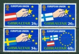 Gibraltar: 1995   Expansion Of E.U.   MNH - Gibilterra