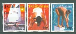 Gibraltar: 1995   Island Games   MNH - Gibilterra