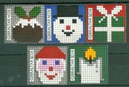 Gibraltar: 1996   Christmas - Lego Blocks   MNH - Gibilterra