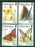 Gibraltar: 1997   Butterflies   MNH - Gibilterra