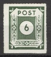 SBZ Ostsachsen 43Ba ** Postfrisch Signiert - Soviet Zone
