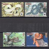 SAMOA  Timbres Neufs ** De 2015   ( Ref 1082 ) Animaux - Serpents - Boas - Samoa (Staat)