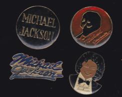 59930-lot De 4  Pin's.-michael Jackson... - Musik