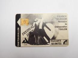 Télécarte Publique , F21 , Chateauvallon - France