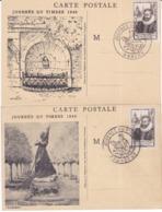 France, Lot De 2 Cartes Maximum,n°754, JT 1946, Fouquet, Cote 50€ ( 190901/063) - 1940-49