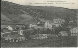 Lozere : La Bastide, Vue Sur Le Quartier De La Gare - France