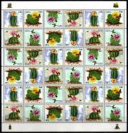 Tajikistan 2018 Full Sheet MNH Cactuses Cactus Flowers Flower Fleurs Fleur - Cactussen