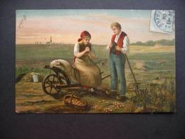 Digging Potatoes 1904 - Couples