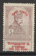 Ungarn 161 * Altsignatur - Ongebruikt