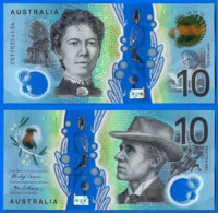 Australie 10 Dollars 2017 Polymere Australia Prefix CG Polymer Bitcoin Paypal OK - Emissions Gouvernementales Décimales 1966-...