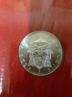 500 Lire 1963 Sede Vacante Vaticano Vatikan State Confezione Zecca Di Roma - Vaticano
