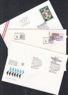 EUROPA EFTA-Ausgaben 1985, 3 FDC, 3 Länder: Finnland, Österreich, Portugal - Europa-CEPT