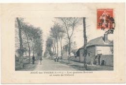 JOUE LES TOURS - Les Quatres Bornes Et Route De Chinon - Frankreich