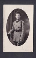 Carte Photo A. Meyer Luneville Portrait Militaire 3 3è Regiment ( Cuirassiers ? ) - Luneville