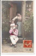 """L60A416 - Couple - Doux Lien D'Amour -  """"Il N'est Rien, Il Me Semble..."""" -  Croissant Paris  N°3406/5 - Couples"""