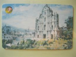 Télécarte De Macao - Macau