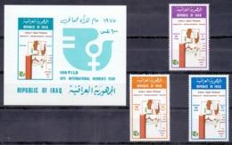 1975 IRAQ Complete Set 3 Values+1 Souvenir Sheets MNH S.G.No.1183-1185 - Iraq