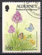 GB - Guernsey - Alderney  (1994)  Mi.Nr.  75 Dl  Gest. / Used  (1fa03) - Alderney