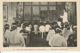 Ile De FORMOSE évangélisée Par Les Pères Dominicains - Classe Dans Un Orphelinat - Formosa