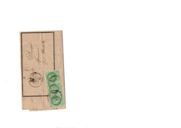Timbres N 53 Sur Enveloppe - 1871-1875 Cérès