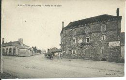 Les Agets-Route De La Gare - France