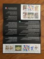 Pochette Philatélique D'émission Commune FRANCE-SUEDE RELATIONS CULTURELLES - 1994 - Neuf - Blocs Souvenir