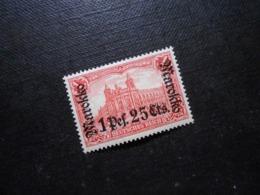 D.R.Mi 55 LA  - 1P25C Auf 1M*MLH  Deutsche Auslandpostämter ( MAROKKO ) 1911 - Mi 10,00 € - Deutsche Post In Marokko