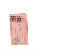 Timbres N 54 Sur Enveloppe - 1871-1875 Ceres