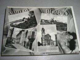 CARTOLINA SALUTI DA BUBBIO - Asti