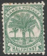 Samoa. 1899 Palm Trees. 1d MH P11 SG 88 - Samoa