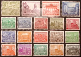 BERLIN 1949: Michel-Nr. 42-60 ** Postfrisch MNH (Michel-Junior 2014 = 750.00 Euro) - [5] Berlino