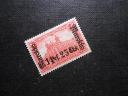 D.R.Mi 55 LlBa  - 1P25C Auf 1M*MLH  Deutsche Auslandpostämter ( MAROKKO ) 1919 - Mi 3,50 € - Offices: Morocco