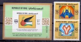 1977 IRAQ Complete Set 2 Values+1 Souvenir Sheets MNH S.G.No.1280-1281 - Iraq