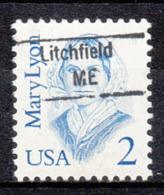 USA Precancel Vorausentwertung Preo, Locals Maine, Litchfield 843 - Vereinigte Staaten