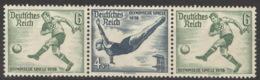 Deutsches Reich Zusammendruck W106 ** Postfrisch - Zusammendrucke