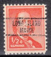 USA Precancel Vorausentwertung Preo, Locals Maine, Long Island 735 - Vereinigte Staaten