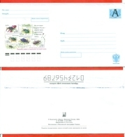 Russia 2003. Envelope With A Printed Stamp.New. - Stamps On Stamps