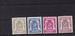 1946 Nr S36-41 Ex 37 Klein Staatswapen MNH* En MNH** - Servicio