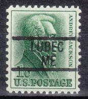 USA Precancel Vorausentwertung Preo, Locals Maine, Lubec 839 - Vereinigte Staaten