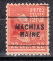 USA Precancel Vorausentwertung Preo, Locals Maine, Machias 703 - Vereinigte Staaten