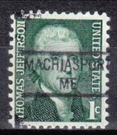 USA Precancel Vorausentwertung Preo, Locals Maine, Machiasport 841 - Vereinigte Staaten