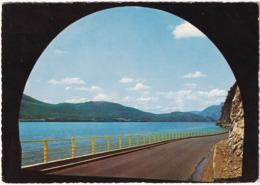 Lac Du Bourget - Tunnel Sur La Route De Corniche (73. Savoie) - Le Bourget Du Lac