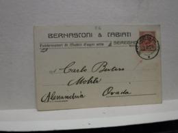SEREGNO  -- MONZA   -- BERNASCONI & CABIATI -- FABBRICA MOBILI - Monza