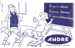 """Ch A/ Buvard Chaussure """"André"""" (N= 1) - Chaussures"""