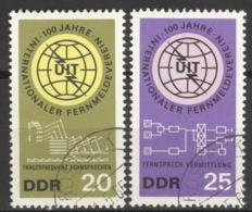 DDR 1113/14 O Tagesstempel - DDR