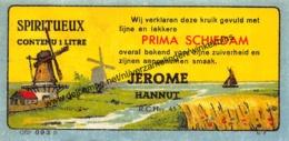 Prima Schiedam - Jerome Hannut - Huy - Spiritueux - Etiketten