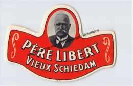 Père Libert - Vieux Schiedam - Etiketten