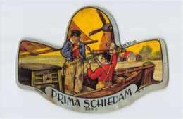 Prima Schiedam - Etiketten