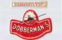 DOBBERMAN'S Oude Schiedam  - Oude Schiedammer Genever Dobberman & Cie - Andere